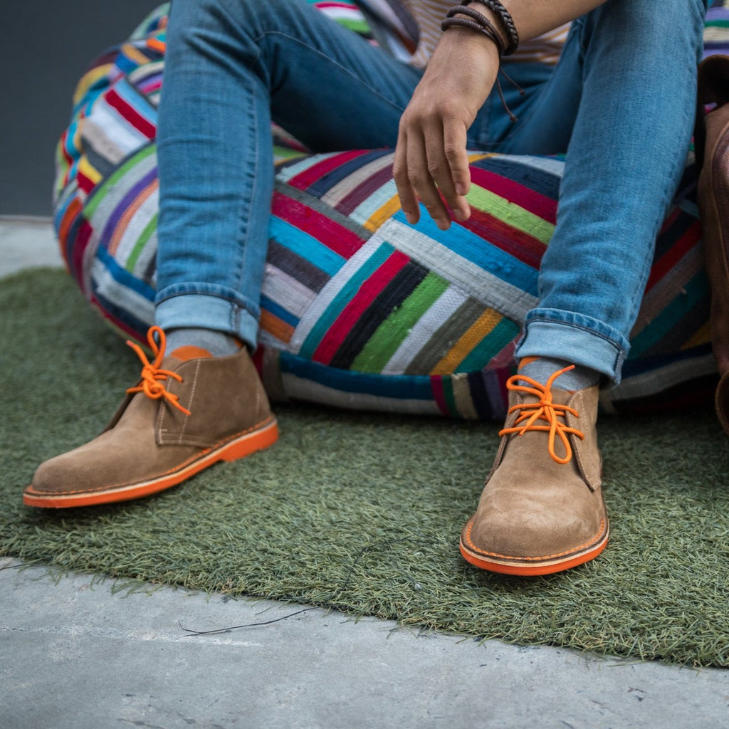 MEN'S DESERT BOOT BLOEM ORANGE