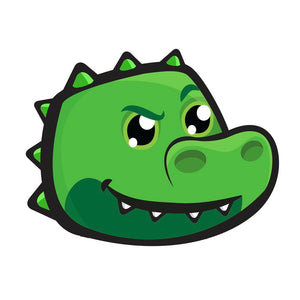 COOPER THE CROC KIDS BADGE