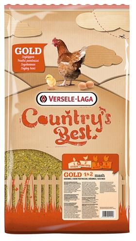 Versele-laga country's best gold 1&2 mash opgroeimeel 5 kg - Luxory Pets