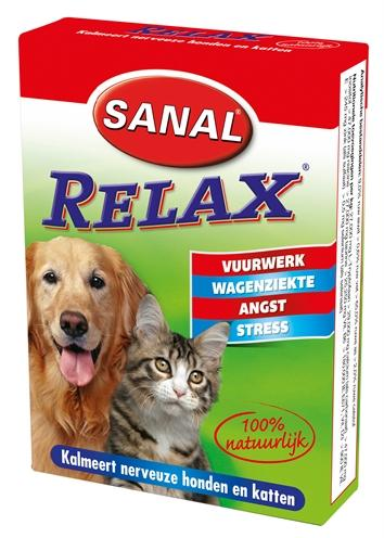 Sanal dog/cat relax kalmeringstablet - Luxory Pets