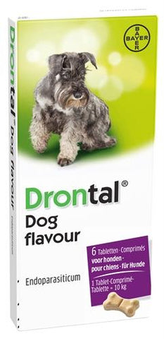 Bayer drontal tasty ontworming hond - Luxory Pets