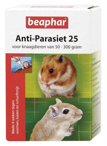 Beaphar Anti-Parasiet 25 Knaagdier 2 Pipet - Luxory Pets