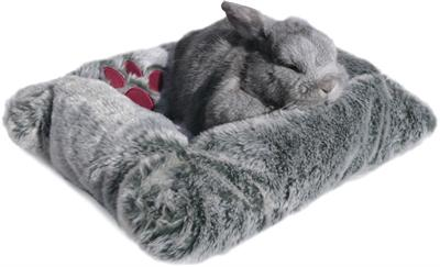 Snuggles Pluche Mand/Bed Knaagdier 43x33 cm - Luxory Pets