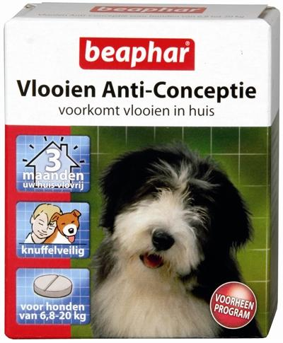 Beaphar Vlooien Anticonceptie Middel Hond 6,8-20 kg - Luxory Pets