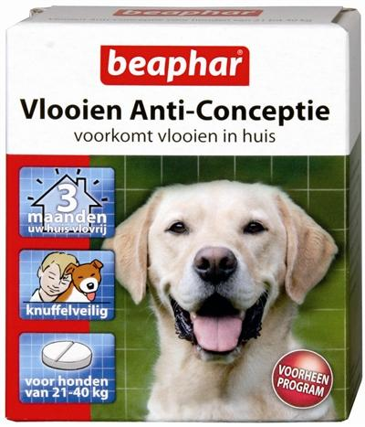 Beaphar Vlooien Anticonceptie Grote Hond 21-40 kg - Luxory Pets