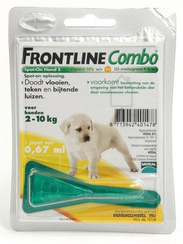 Frontline Combo Puppypakket 1 Pipet - Luxory Pets