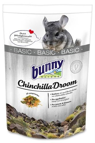 Bunny Nature Chinchilladroom Basic 1,2 kg - Luxory Pets