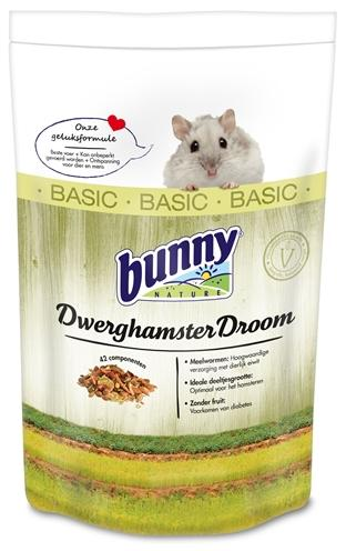 Bunny Nature Dwerghamsterdroom Basic 600 g - Luxory Pets
