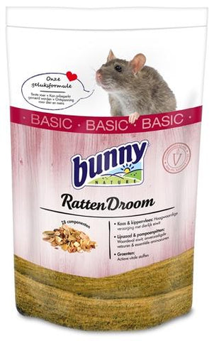 Bunny Nature Rattendroom Basic 500 g - Luxory Pets
