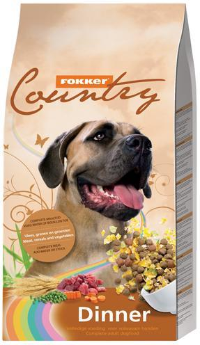 Fokker country dinner 15 kg - Luxory Pets