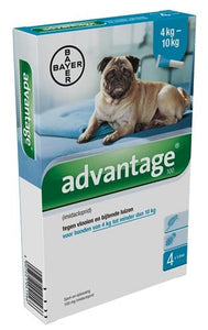 Bayer Advantage Hond 100 4-10kg 4 Pipet - Luxory Pets