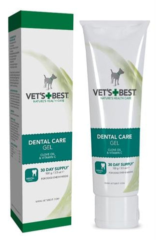Vets Best Dental Gel Hond 100 gr - Luxory Pets