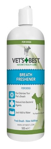 Vets Best Breath Freshener Hond 500 ml - Luxory Pets