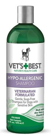 Vets best hypo-allergenic shampoo - Luxory Pets