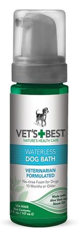 Vets best waterless dog bath - Luxory Pets