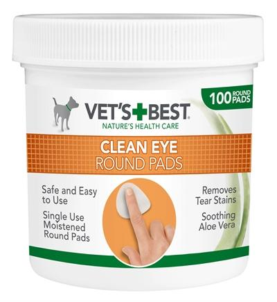 Vets best clean eye round pads - Luxory Pets