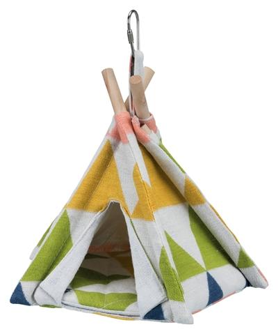 Trixie tipi tent vogel assorti - Luxory Pets