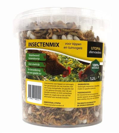 Insectenmix 1,2 l - Luxory Pets