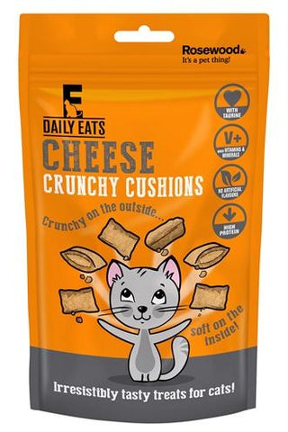 Rosewood leaps&bounds crunchy cheese cushions 60 gr - Luxory Pets
