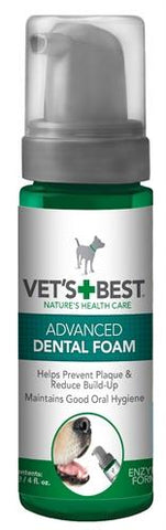 Vets Best Advanced Dental Foam 120 ml - Luxory Pets