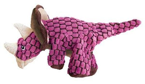 Kong Dynos Triceratops Roze 37x18x37 cm - Luxory Pets