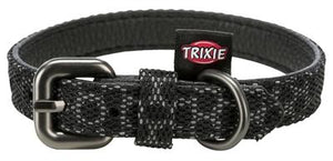 Trixie halsband hond night reflect zwart 30-40x2 cm - Luxory Pets
