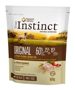 True instinct original mini adult chicken 600 gr - Luxory Pets
