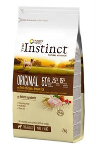 True instinct original mini adult chicken 2 kg - Luxory Pets