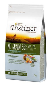 True Instinct No Grain Medium Junior Salmon 2 kg - Luxory Pets