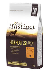 True instinct high meat medium adult chicken 2 kg - Luxory Pets