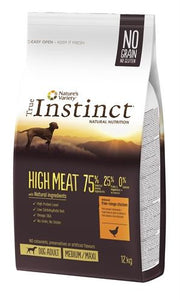 True instinct high meat medium adult chicken 12 kg - Luxory Pets