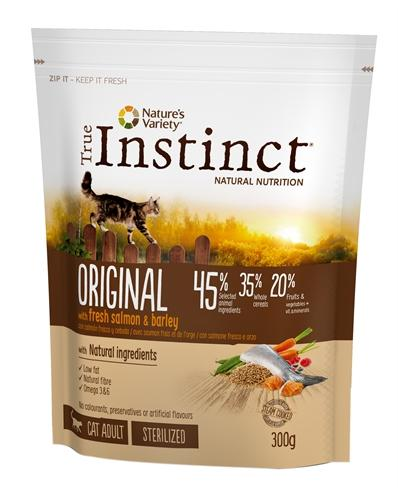 True instinct original sterilized salmon 300 gr - Luxory Pets