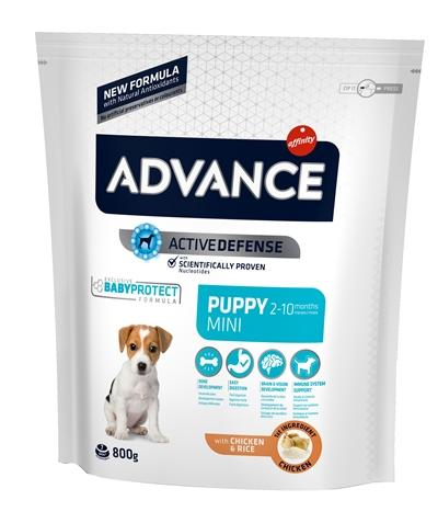Advance puppy protect mini 800 gr - Luxory Pets