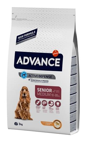 Advance medium senior 3 kg - Luxory Pets