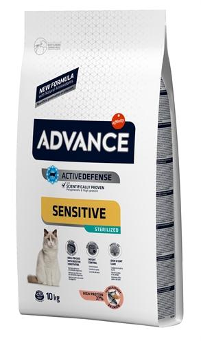 Advance cat sterilized sensitive salmon 10 kg - Luxory Pets
