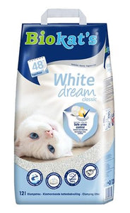 Biokat's white dream classic 12 ltr - Luxory Pets