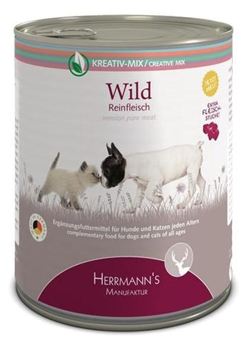 Herrmanns Pure Wild 800 gr - Luxory Pets