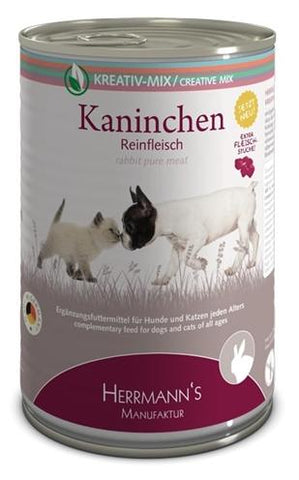 Herrmanns Pure Rabbit 400 gr - Luxory Pets