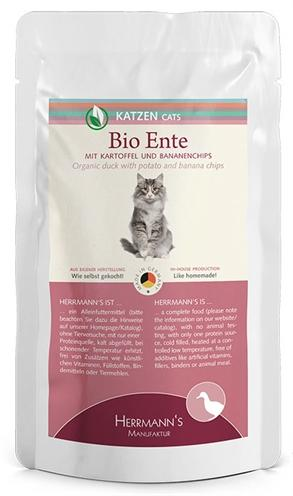 Herrmanns Bio Selection Cat Duck With Potato 100 gr - Luxory Pets
