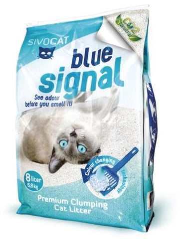 Sivocat blue signal 8 ltr - Luxory Pets