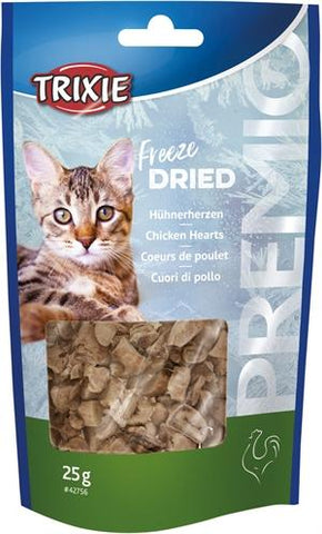 Trixie Premio Freeze Dried Kippenharten 25 gr - Luxory Pets