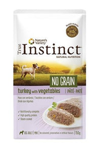 True instinct mini turkey pate grain free pouch - Luxory Pets