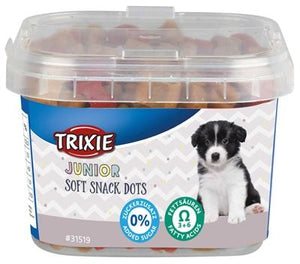 Trixie junior soft snack dots met omega-3 140 gr - Luxory Pets