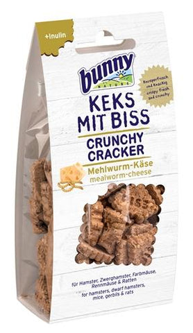Bunny nature crunchy cracker meelworm / kaas - Luxory Pets
