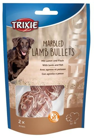 Trixie premio marbled lamb bullets - Luxory Pets