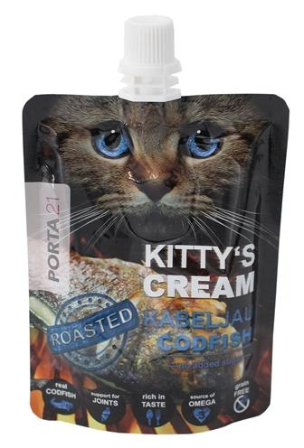 Porta 21 kitty's cream kabeljauw - Luxory Pets