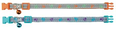 Trixie halsband kat print poot reflecterend assorti - Luxory Pets