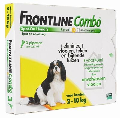 Frontline Hond Combo Spot On 3 Pack S - Luxory Pets
