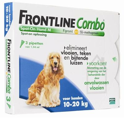 Frontline Hond Combo Spot On 3 pack M - Luxory Pets