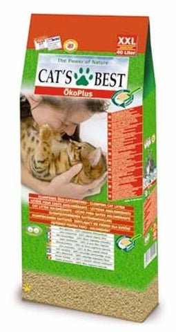 Cat's Best Oko Plus Korrels 40 l - Luxory Pets